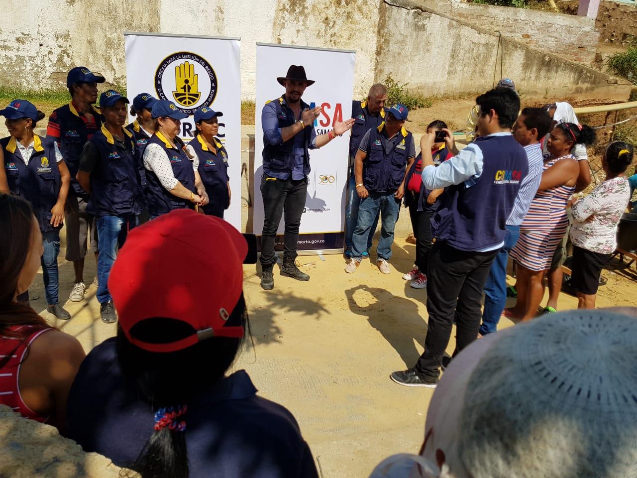 Alcaldía inicia obra de mejoramiento en represa del barrio Los Fundadores