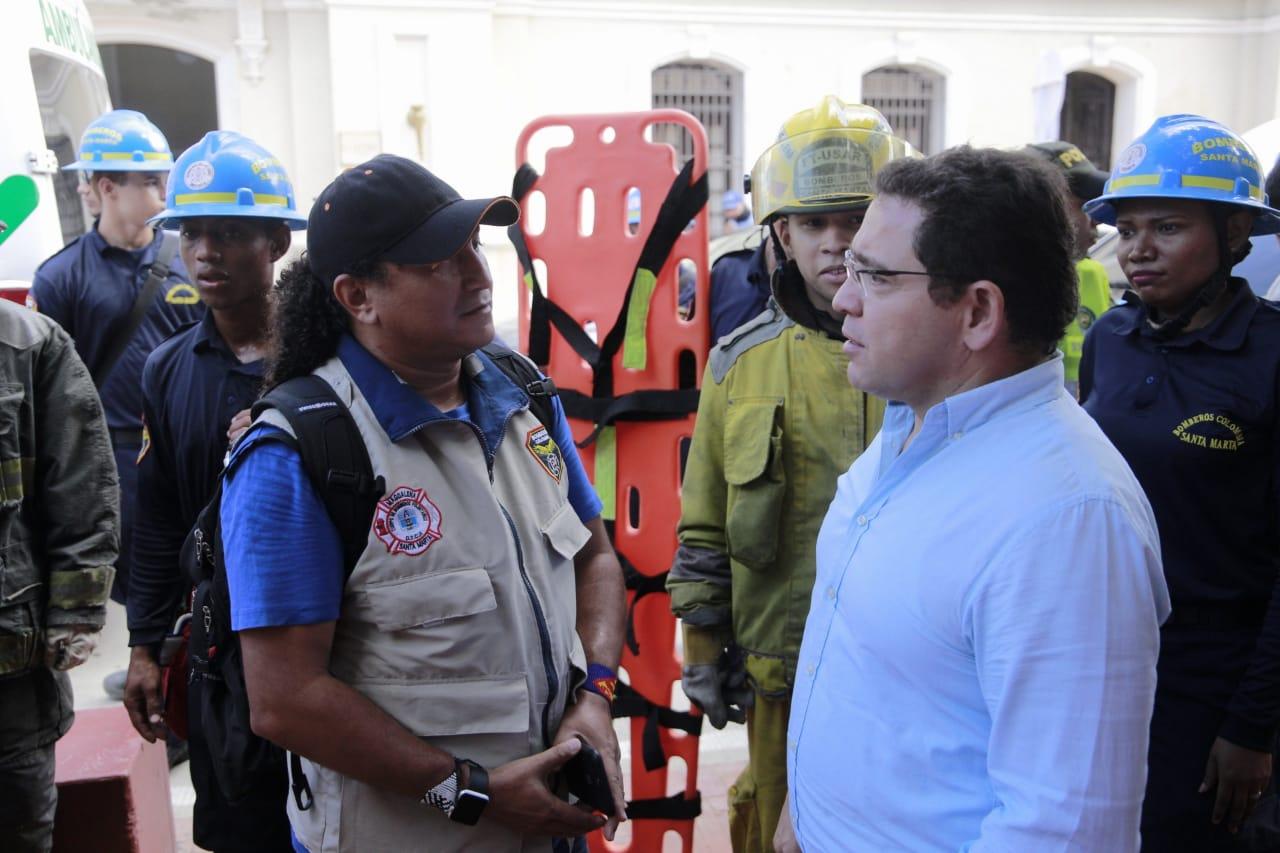 61 mil samarios participaron en el 'VII Simulacro Nacional de Respuesta a Emergencias': Ogricc