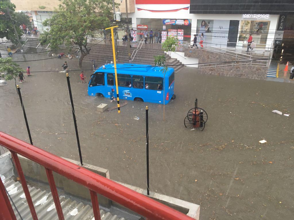 35 barrios y 2.058 viviendas resultaron afectadas durante las lluvias del domingo: según Ogricc