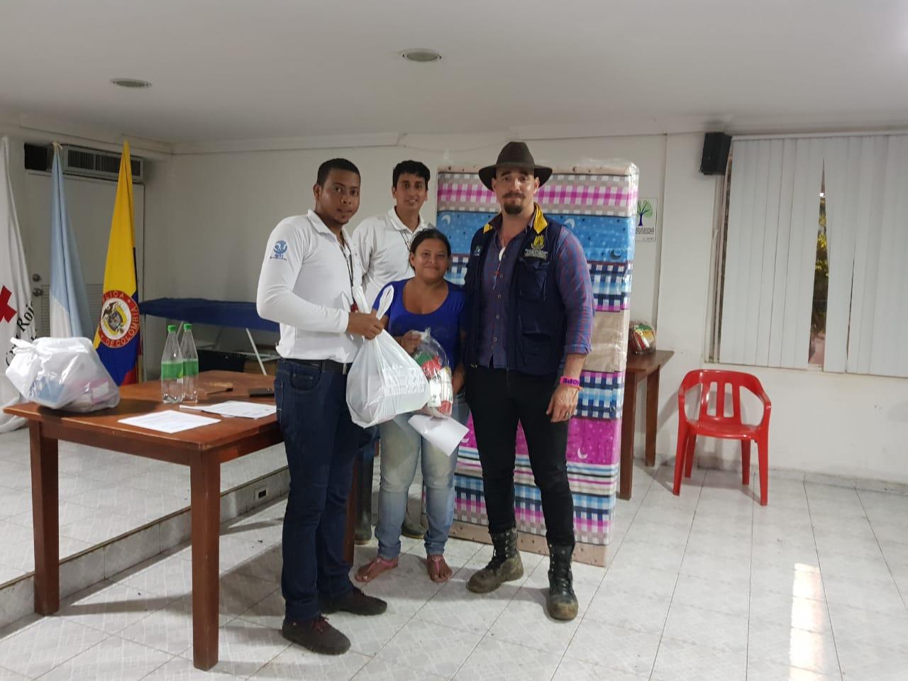 Ogricc coordina censo a damnificados por lluvias en Santa Marta