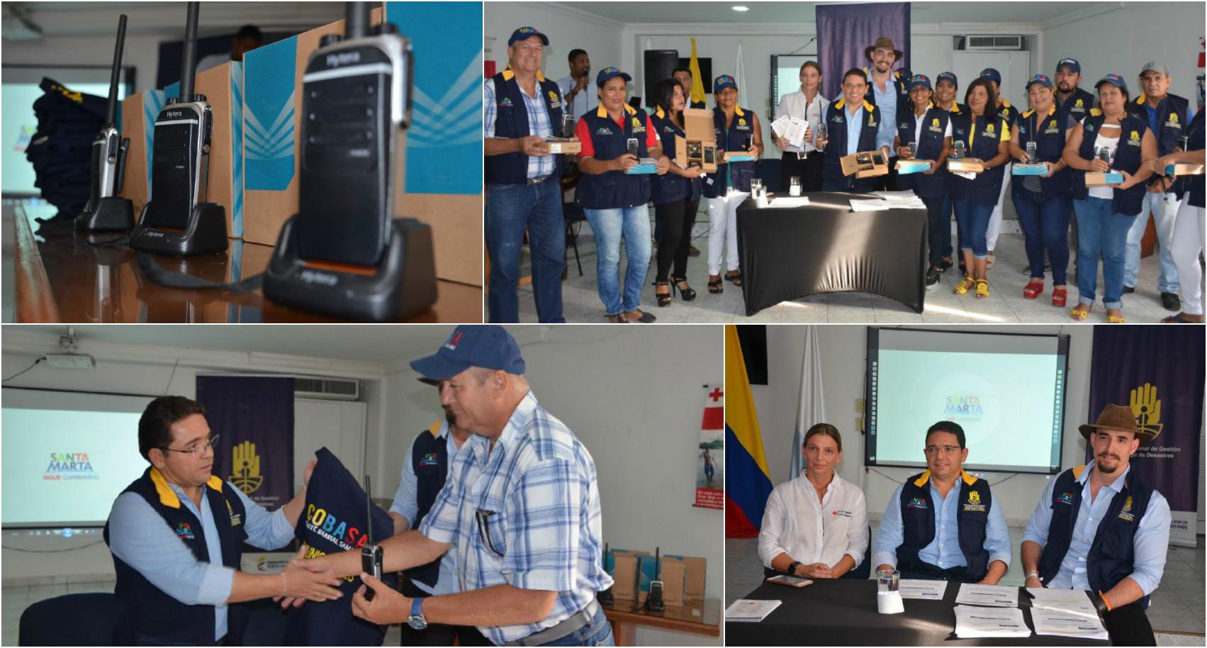 Santa Marta tendrá la Primera Red Comunitaria de Alerta y Emergencia