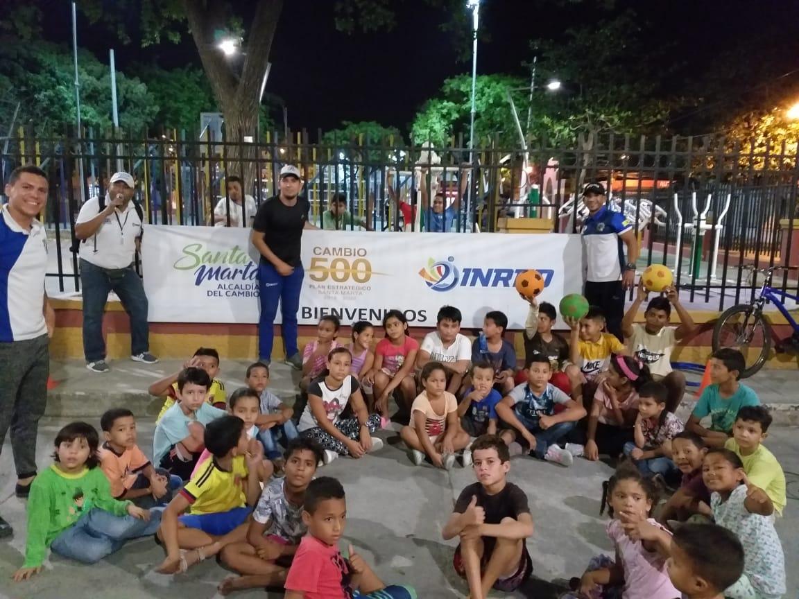 Alcaldía celebró el Mes del Niño con los Amigos del Barrio