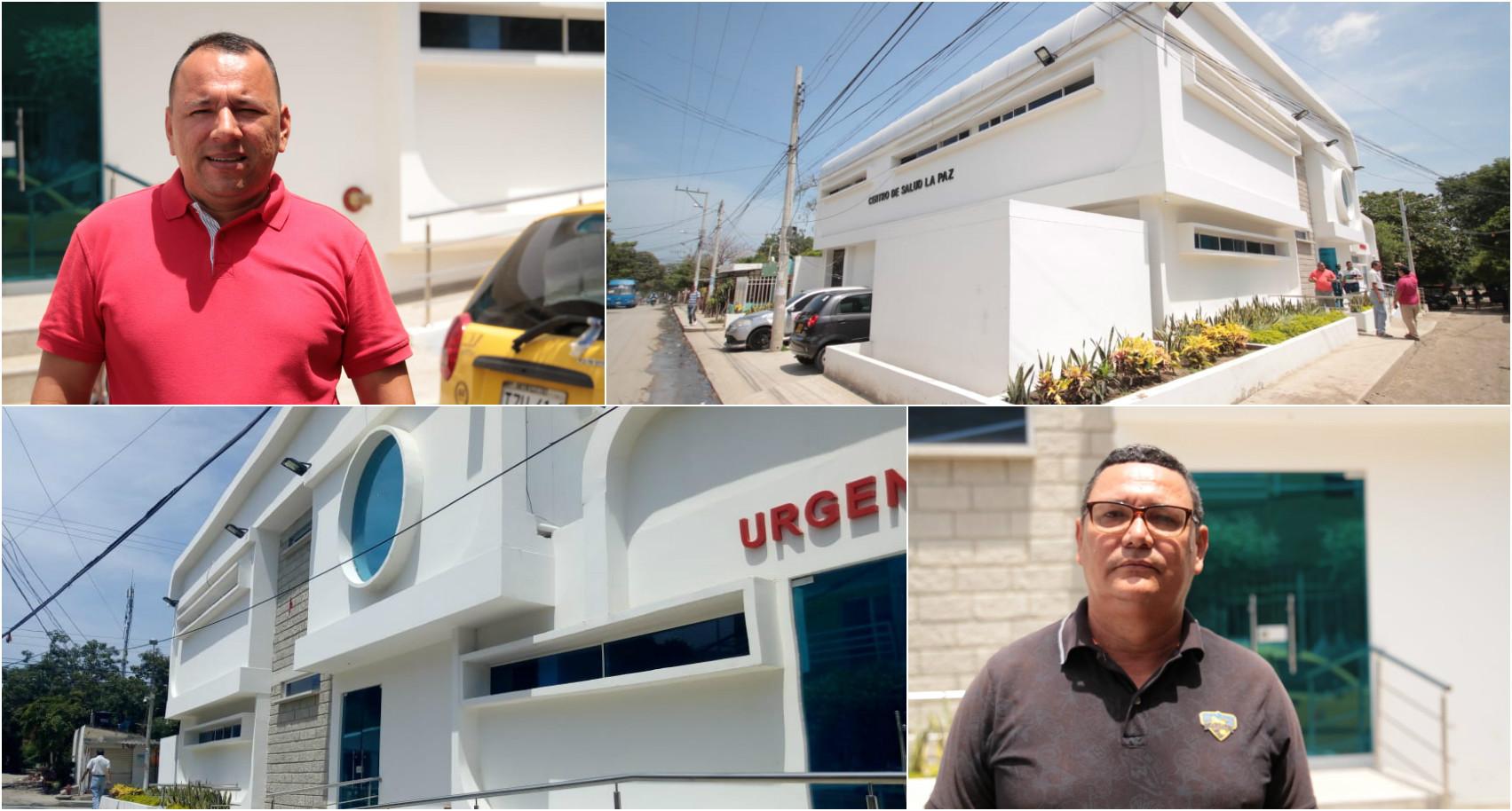 Líderes de la ciudad visitaron el centro de salud del Barrio La Paz
