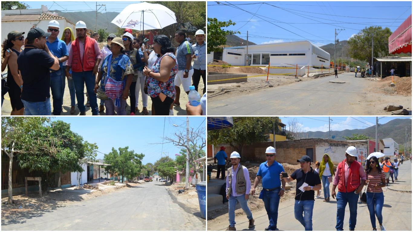 Santa Marta sigue cambiando con más vías dignas, se intervienen 2.500 metros lineales de malla vial