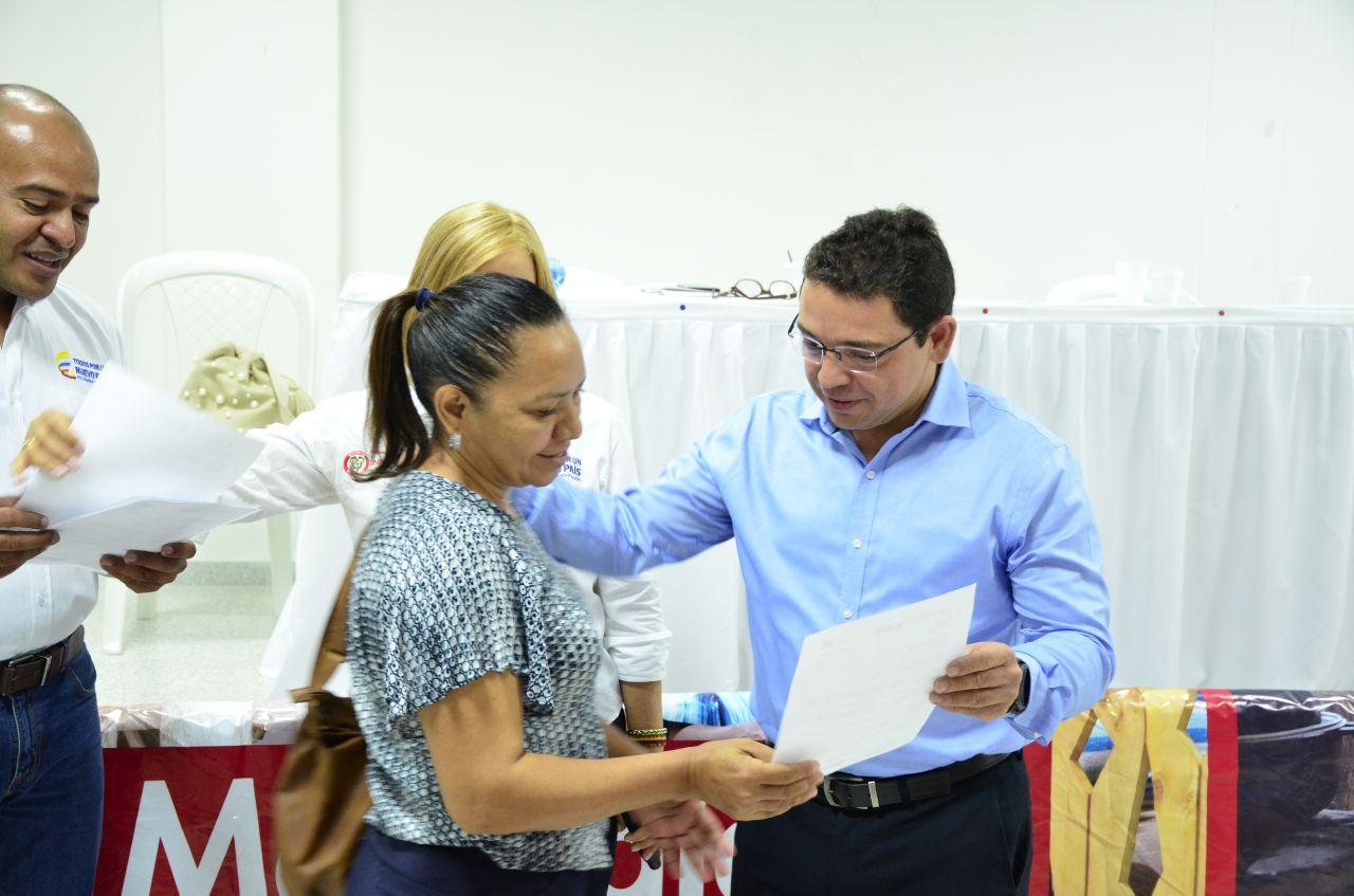 Distrito otorgó 250 cartas de indemnización a las víctimas del conflicto armado