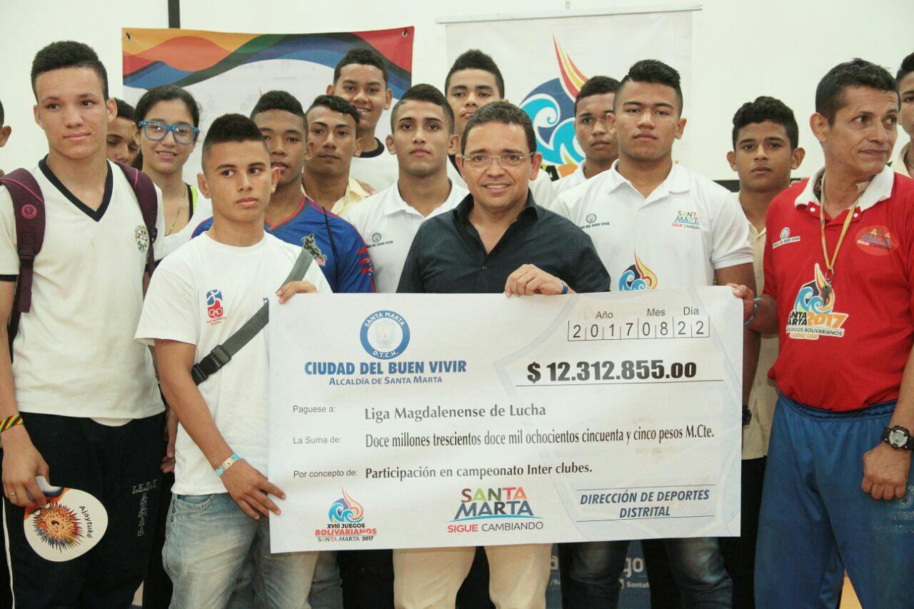 Por tercera vez Alcalde Martínez entregará apoyos y estímulos a deportistas de Santa Marta