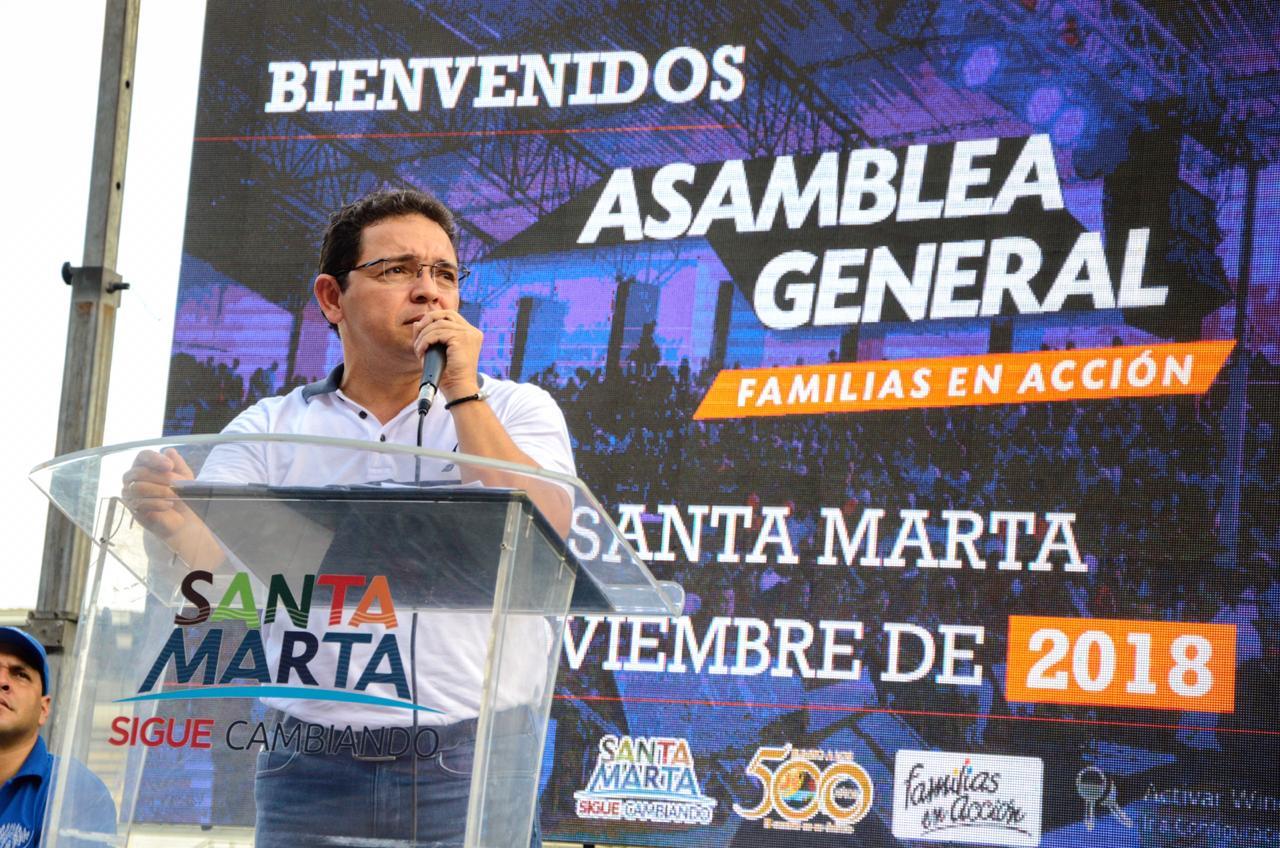 10 mil personas en Asamblea General de Familias en Acción