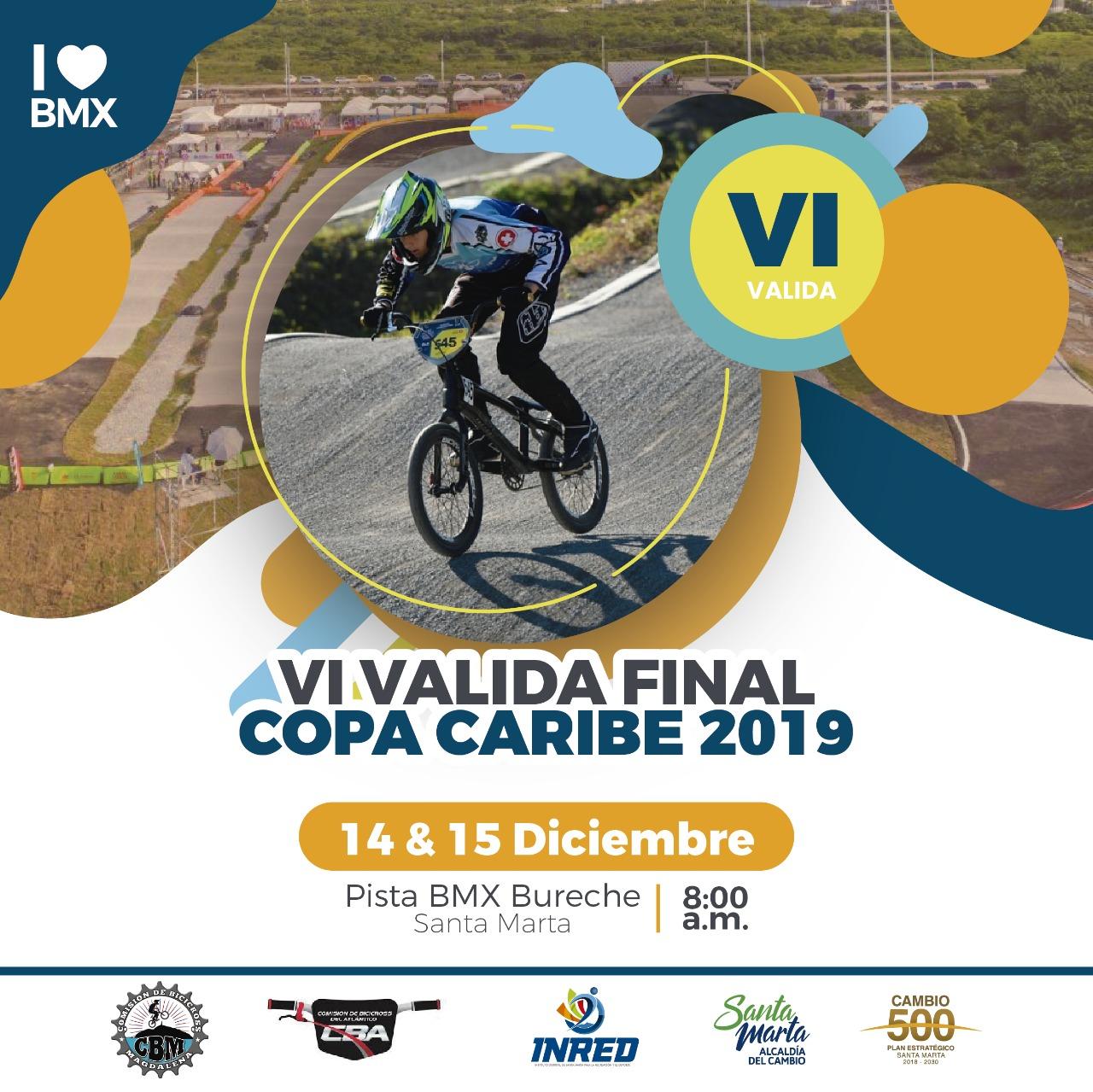 Este fin de semana se realizará la VI valida final Copa Caribe de BMX 2019