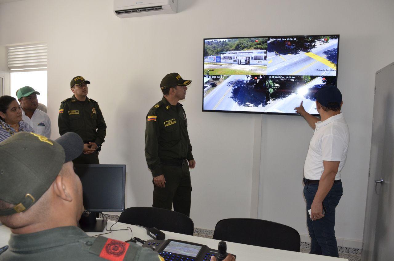 Cámaras de seguridad vigilan puntos estratégicos en la zona rural
