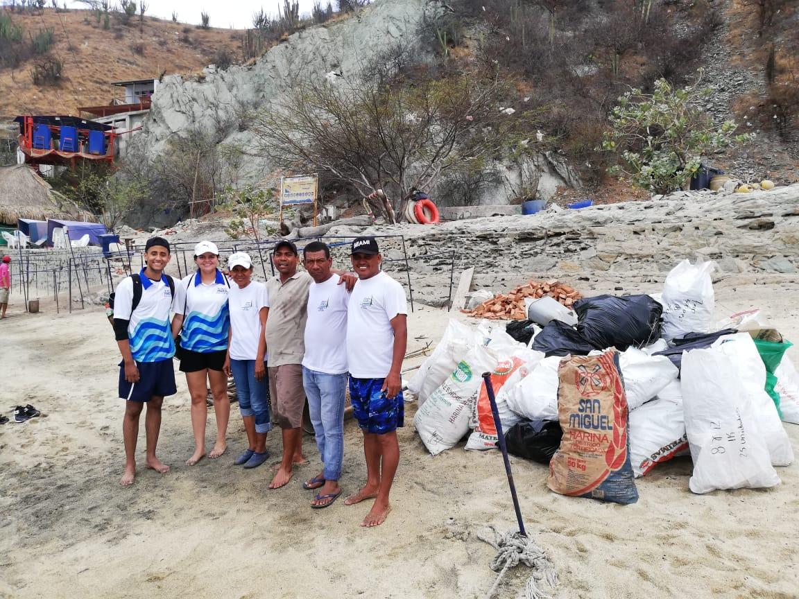 Indetur inició adecuación, limpieza y oxigenación playas