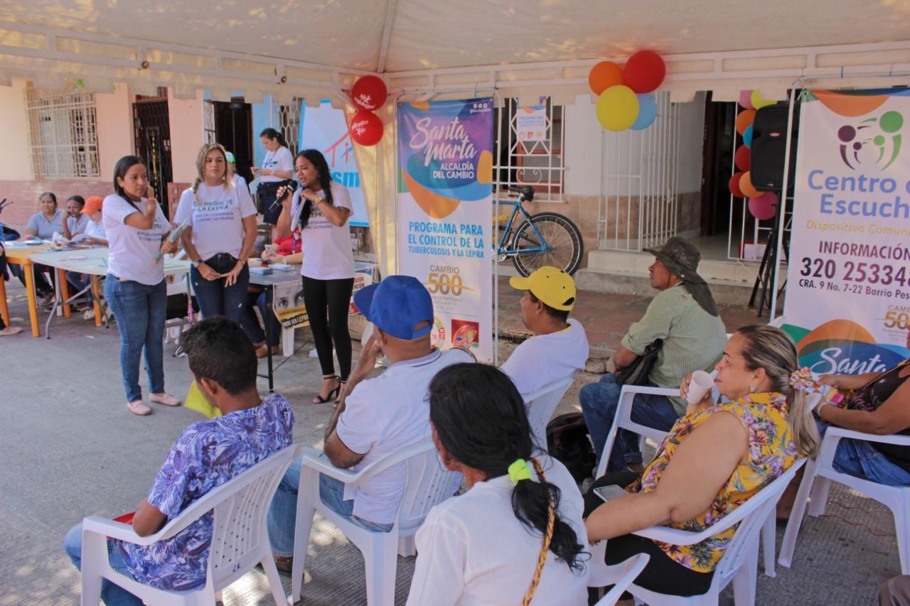 El Distrito conmemoró Día Mundial de la Enfermedad de Hansen o Lepra