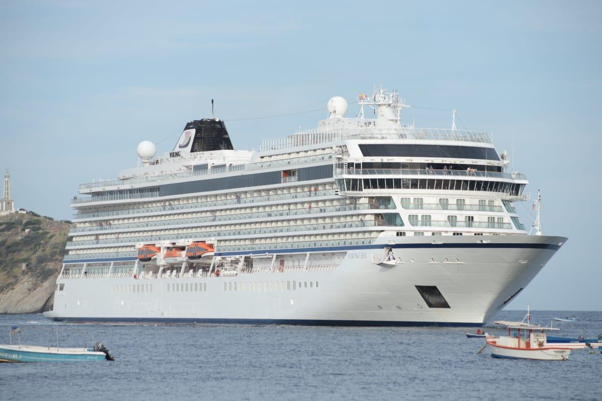 Llegan dos cruceros más esta semana a Santa Marta y La Ciudad se afianza como destino náutico