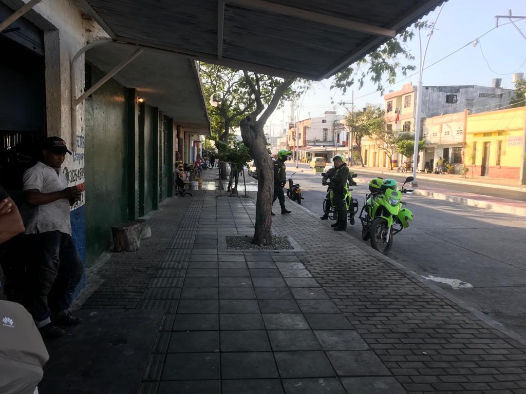 Restituido espacio público ocupado por talleres de motos
