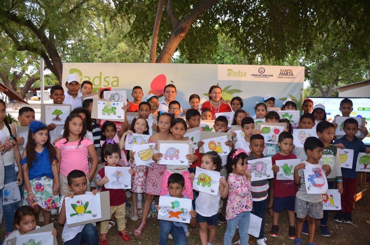 Dadsa-Kids lanza portal web en busca de dinamizar cultura ambiental entre niños del Distrito