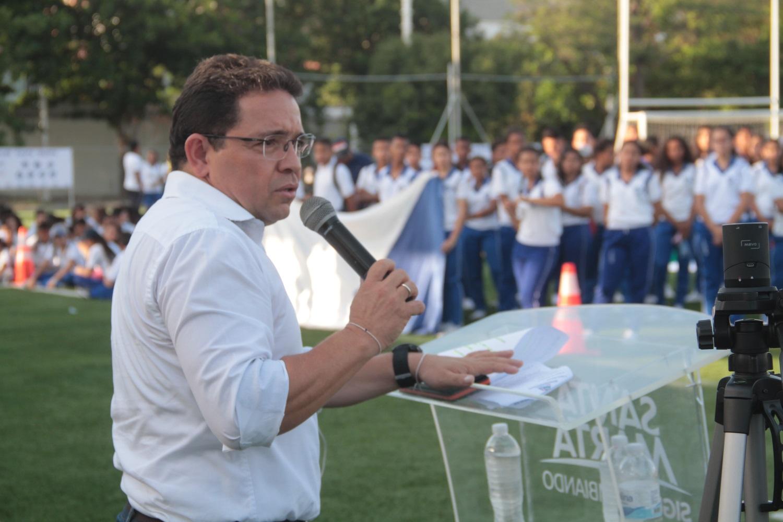 Estudiantes samarios le cumplieron la cita a los Juegos Intercolegiados