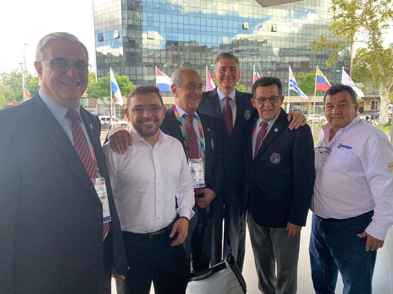 En Argentina, Alcalde de Santa Marta se reunió con Presidentes del Comité Olímpico de Odesur