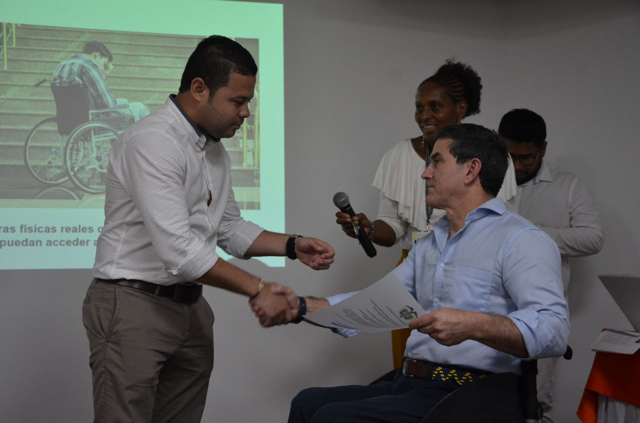 Gobierno Nacional destaca gestión del Distrito en favor de calidad de vida de discapacitados