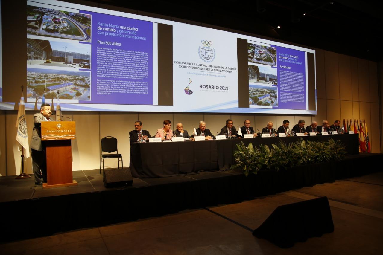Santa Marta es candidata oficial a los Juegos de Mar y Playa 2023