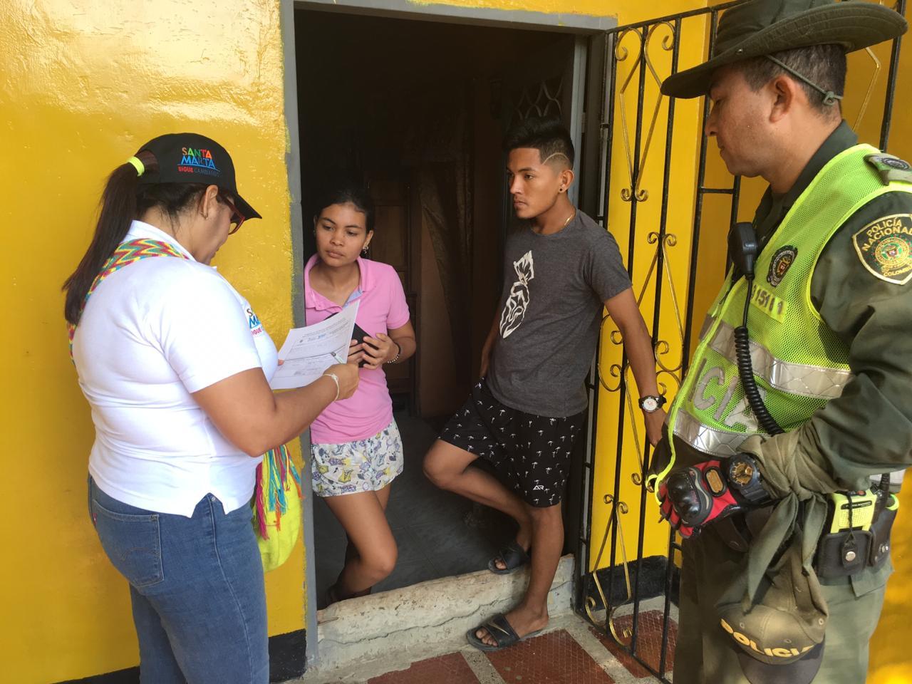 Alcaldía de Santa Marta adelanta encuesta de percepción de olores en alrededores de IED 11de Noviembre