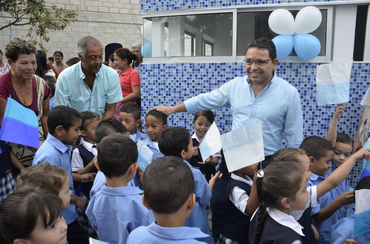 Alcalde entregó Jardín Infantil en la IED 'San Pedro Alejandrino'