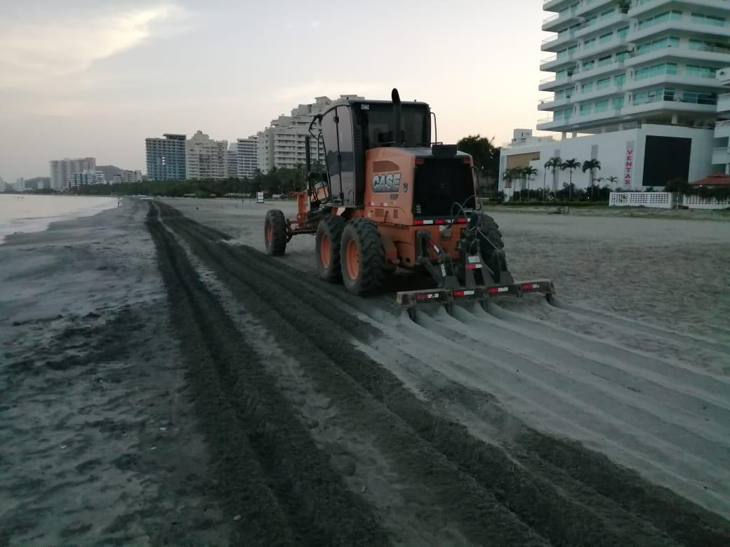 Essmar realizó oxigenación de playas en Bello Horizonte