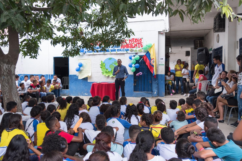 Colegios participaron activamente en la construcción de la marca del transporte