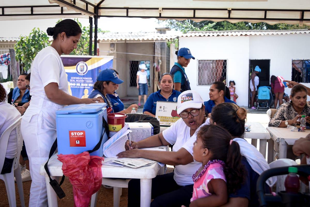 Habitantes del barrio Cristo Rey recibieron Feria de la 'Equidad y el Buen Vivir'