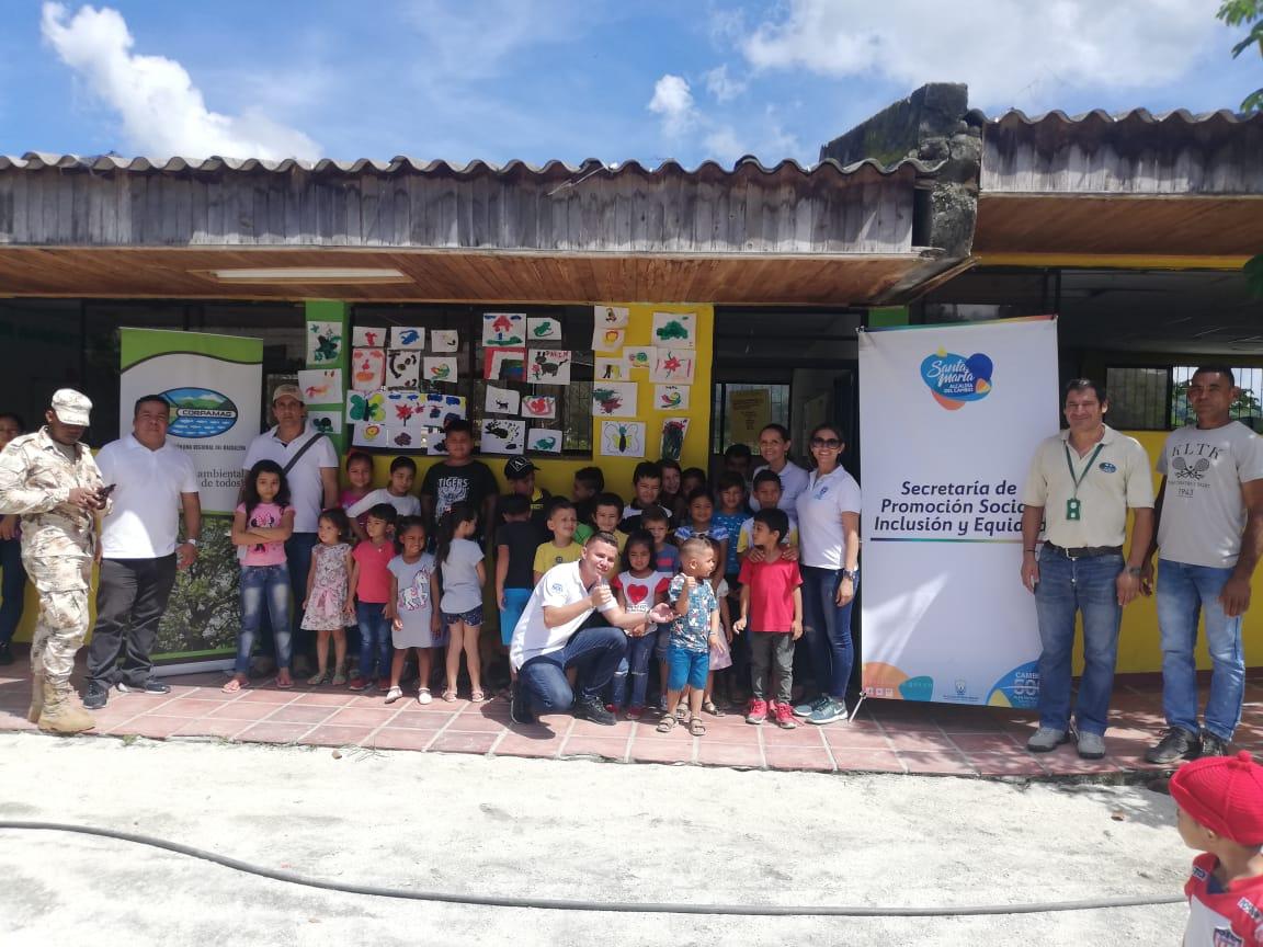 535 personas en 'Machete Pelao' accedieron a la 'Feria de la Equidad y el Buen Vivir'