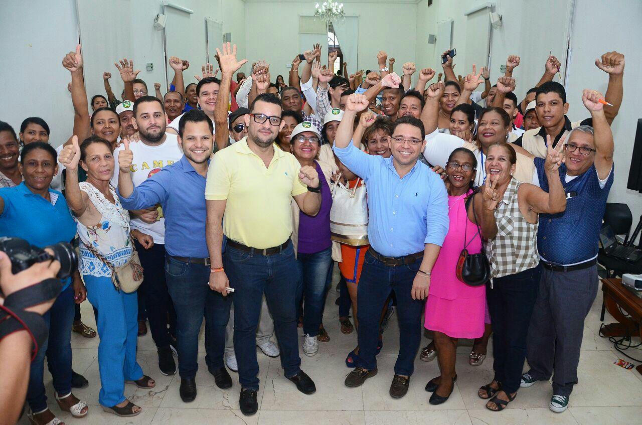Con las 'Obras para el Buen Vivir', 19 barrios de la Localidad 2 darán solución a problemas históricos