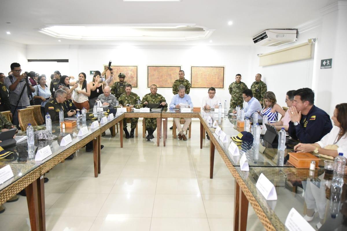 Alcalde Martínez solicitó a Mindefensa reforzar la seguridad en la Troncal del Caribe