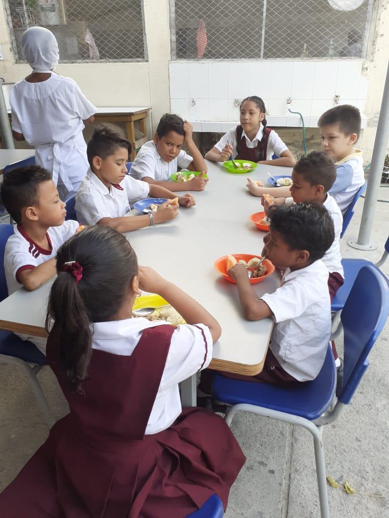 PAE funciona con normalidad en colegios de Santa Marta