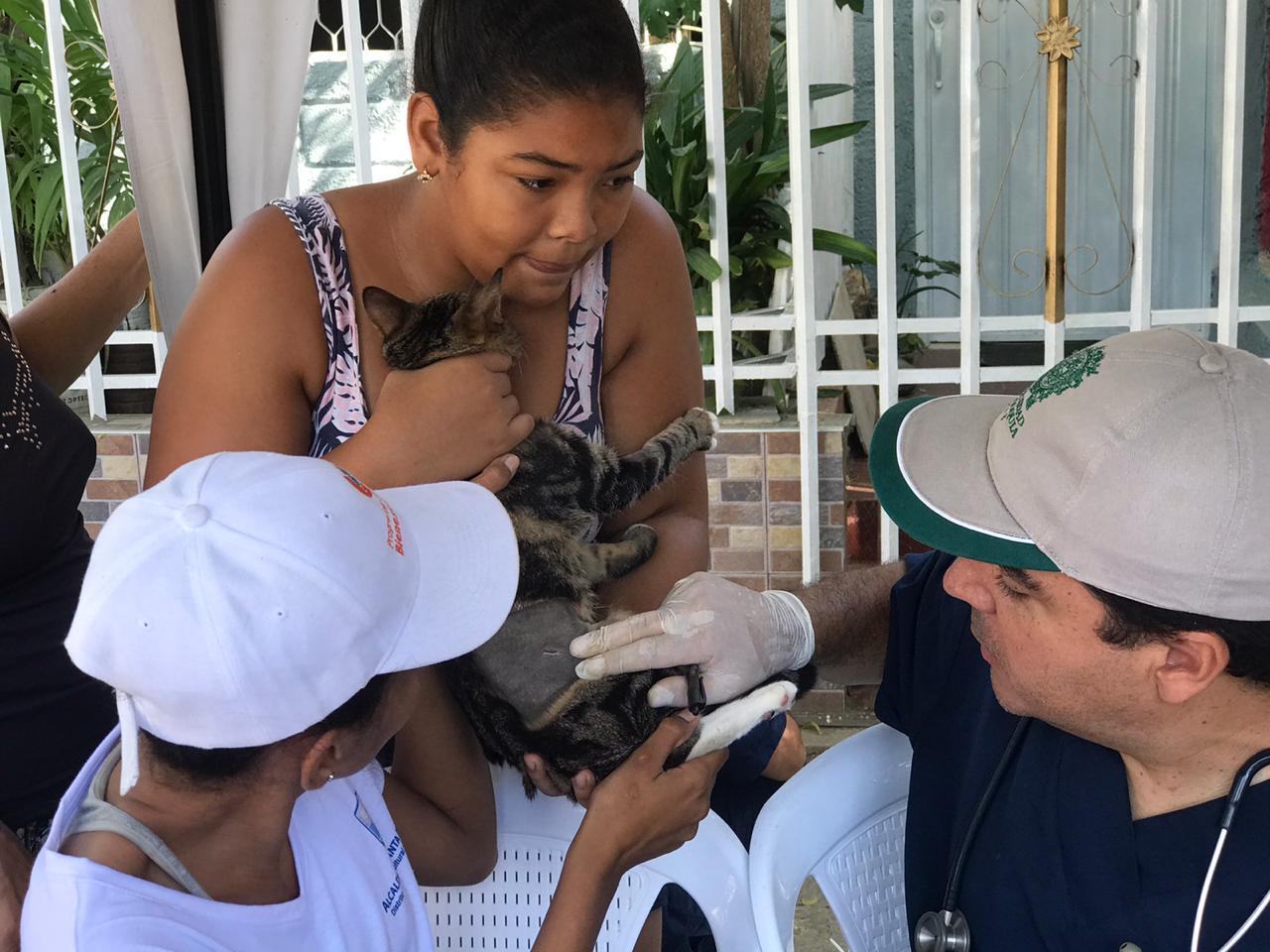 Habitantes de El Pando accedieron a la VIII Jornada de Esterilización Canina y Felina