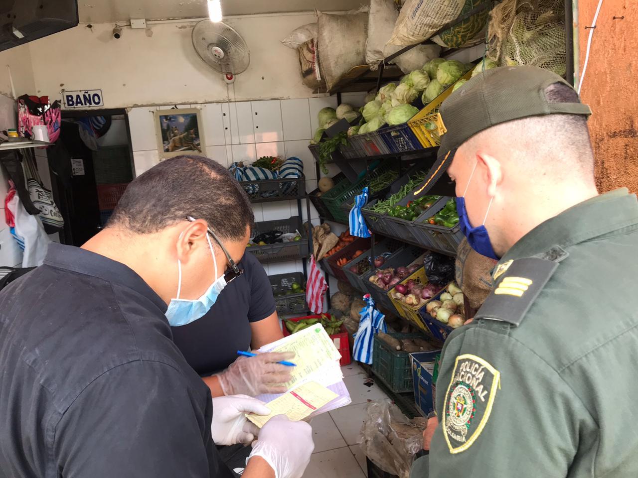 Alcaldía ejerce control de precios a establecimientos de alimentos y víveres