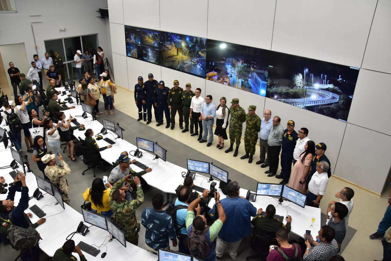 Más seguridad para los samarios, alcalde Martínez inaugura Sala Integrada de Emergencias y Seguridad (SIES)