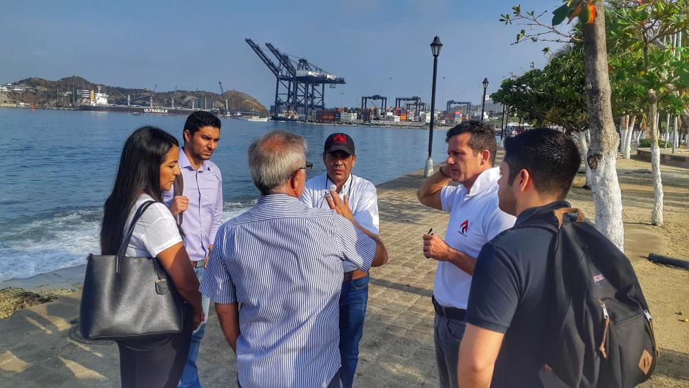 La transformación de Santa Marta está en marcha, iniciaron las inspecciones técnicas para renovación del Camellón de la Bahía