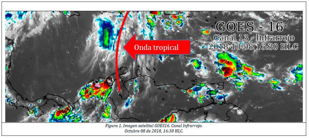 Por paso de onda tropical en el Caribe, habrá lluvias y riesgo de crecientes: Ogricc