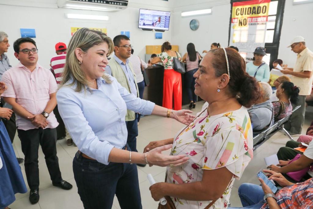 Alcaldesa invita a los samarios a acogerse al 20% de descuento en el pago del impuesto predial