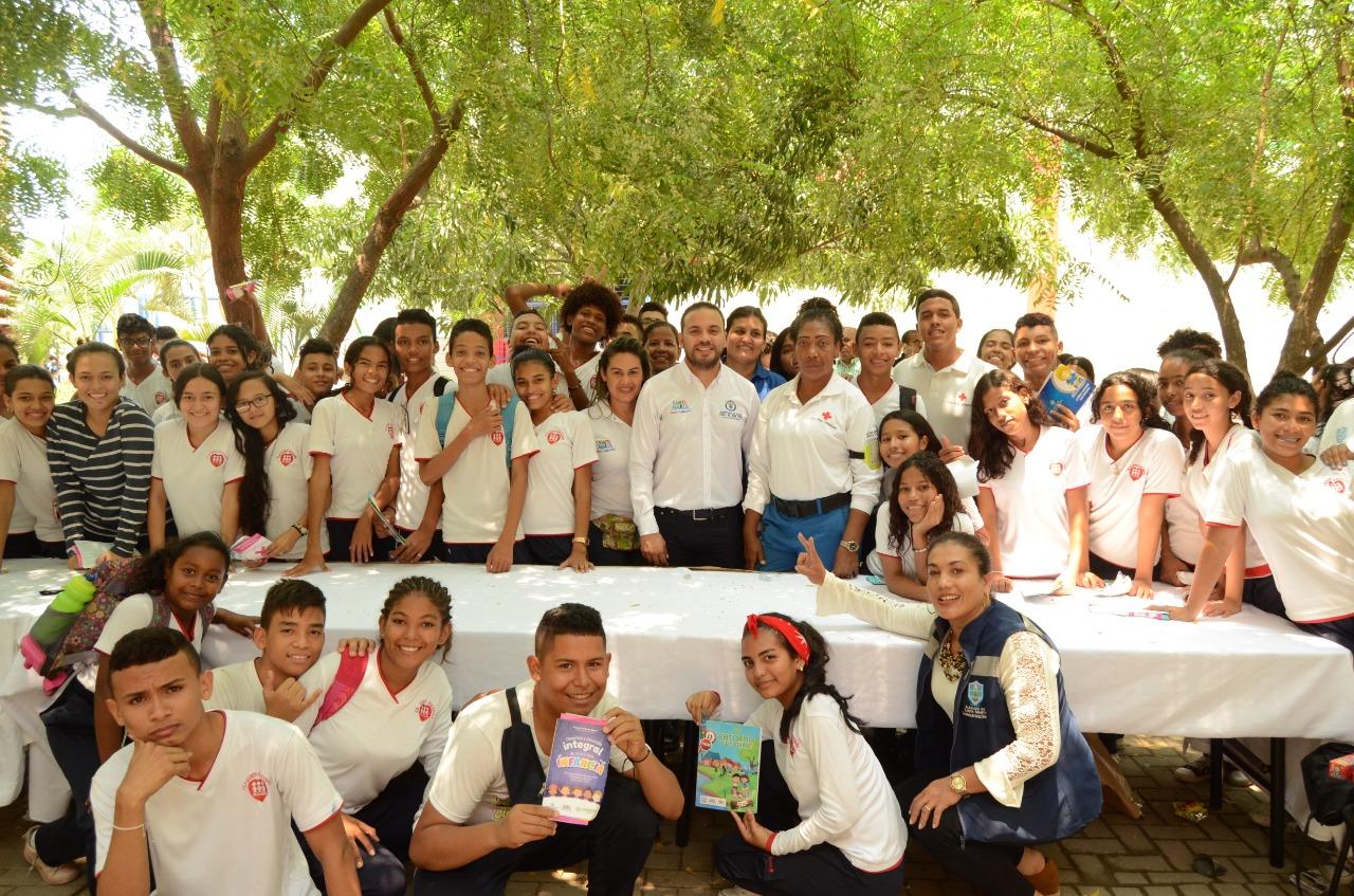 Estrategia de 'Escuelas Saludables' se tomó el colegio Quinto Centenario