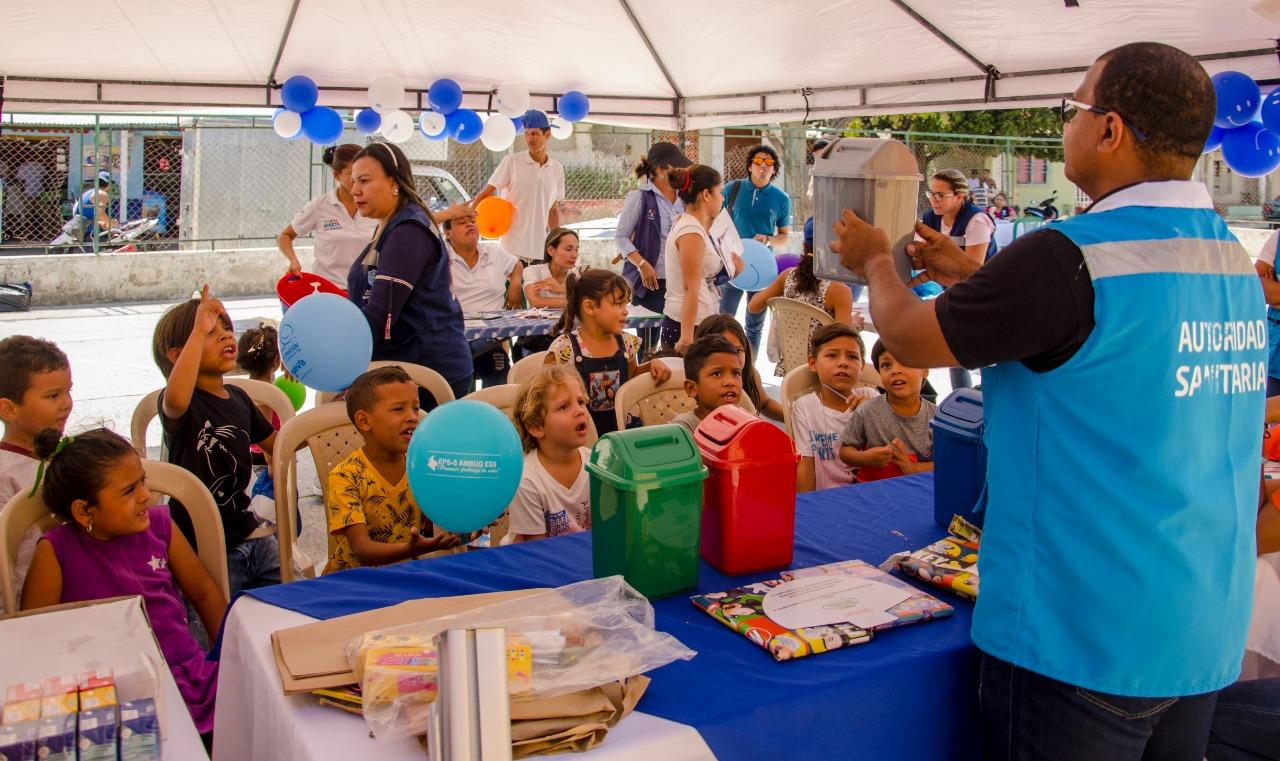 Comunidad del Libertador recibió jornada de Entornos Saludables e Integral de Salud