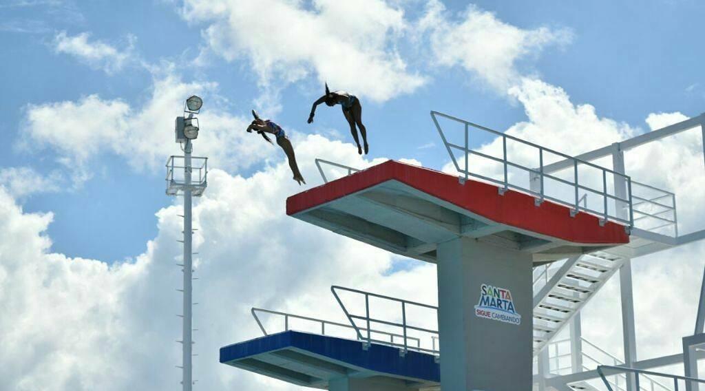 Administración distrital recibirá a selecciones de natación de carreras y clavados