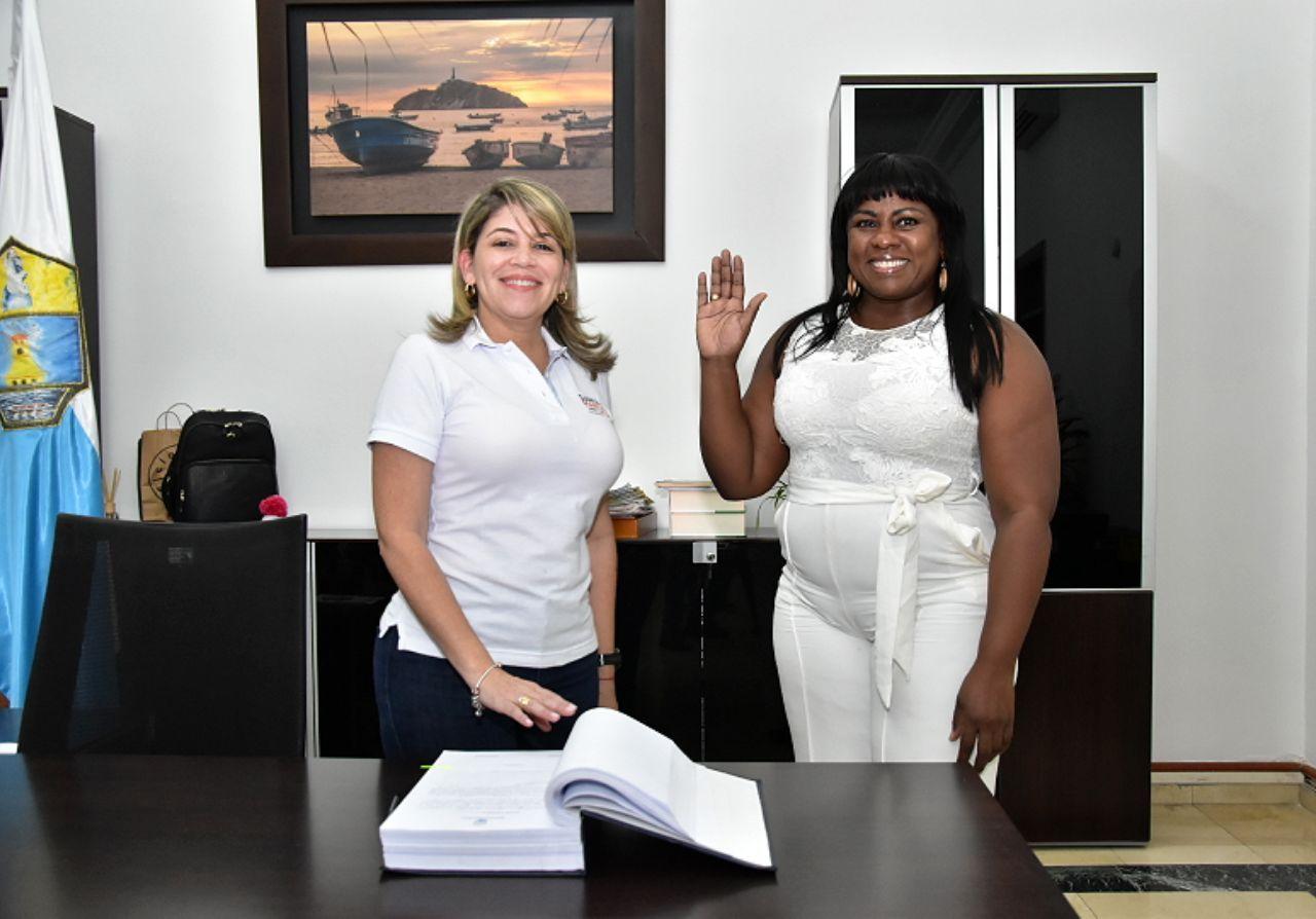 Líder afro es la nueva directora de la Casa de Justicia