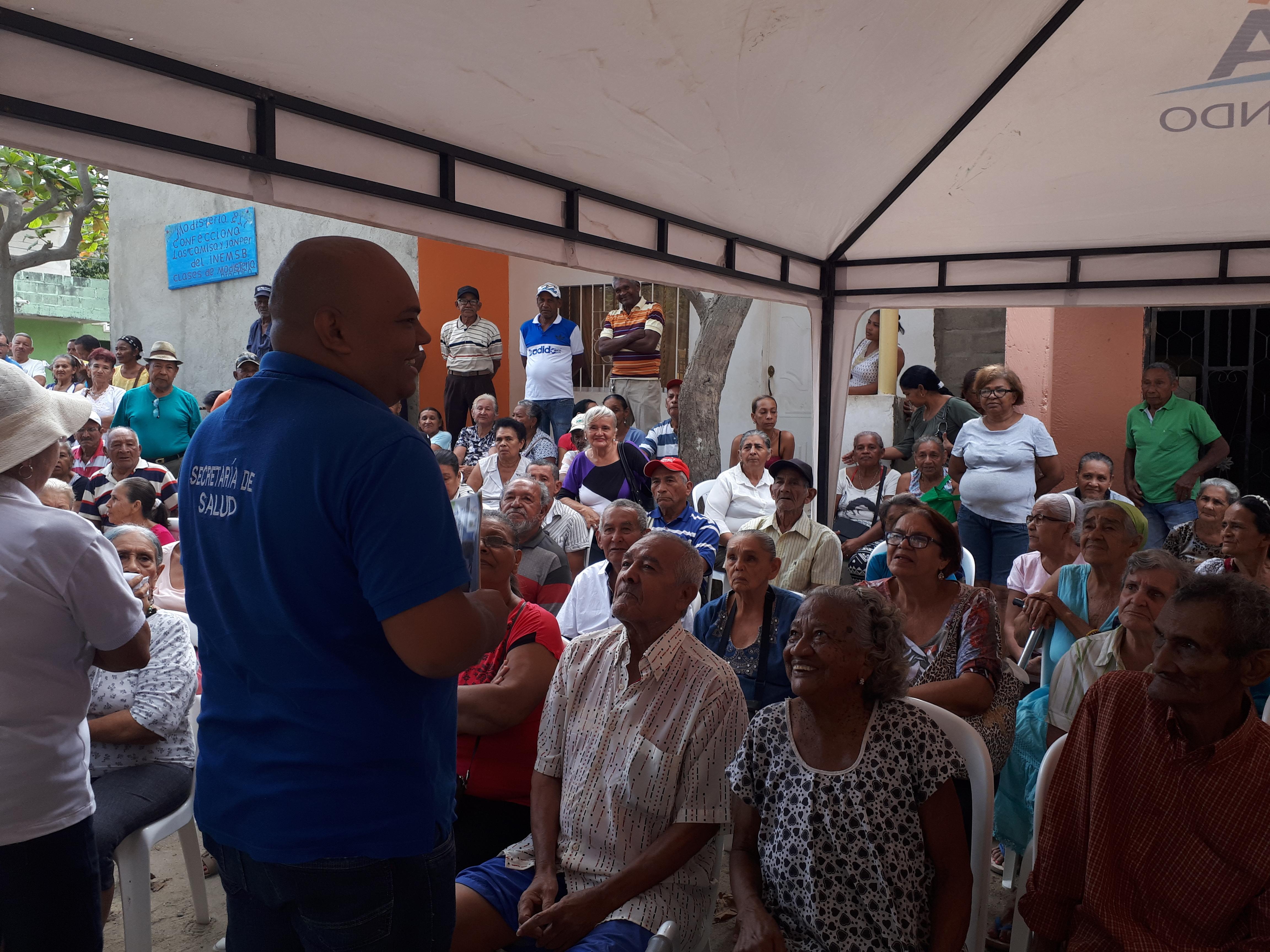Distrito sensibiliza en TB/Lepra a adultos mayores