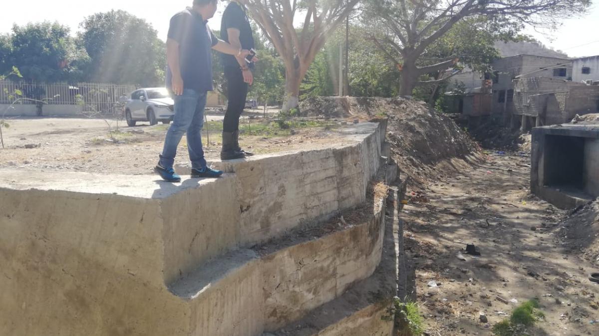 Terminadas obras de mitigación de inundaciones de la Quebrada Tamacá