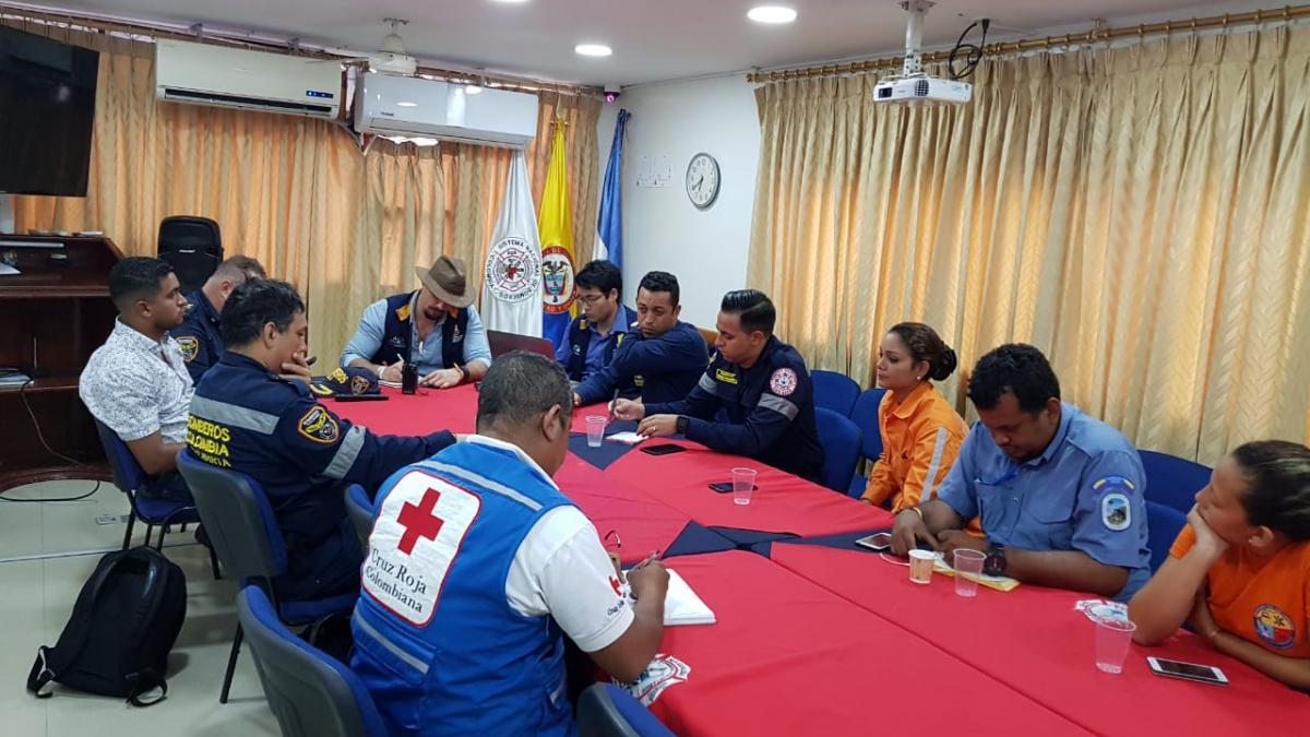 Con un despliegue de 45 unidades Ogricc coordinará atención a emergencia en vereda  Marquetalia