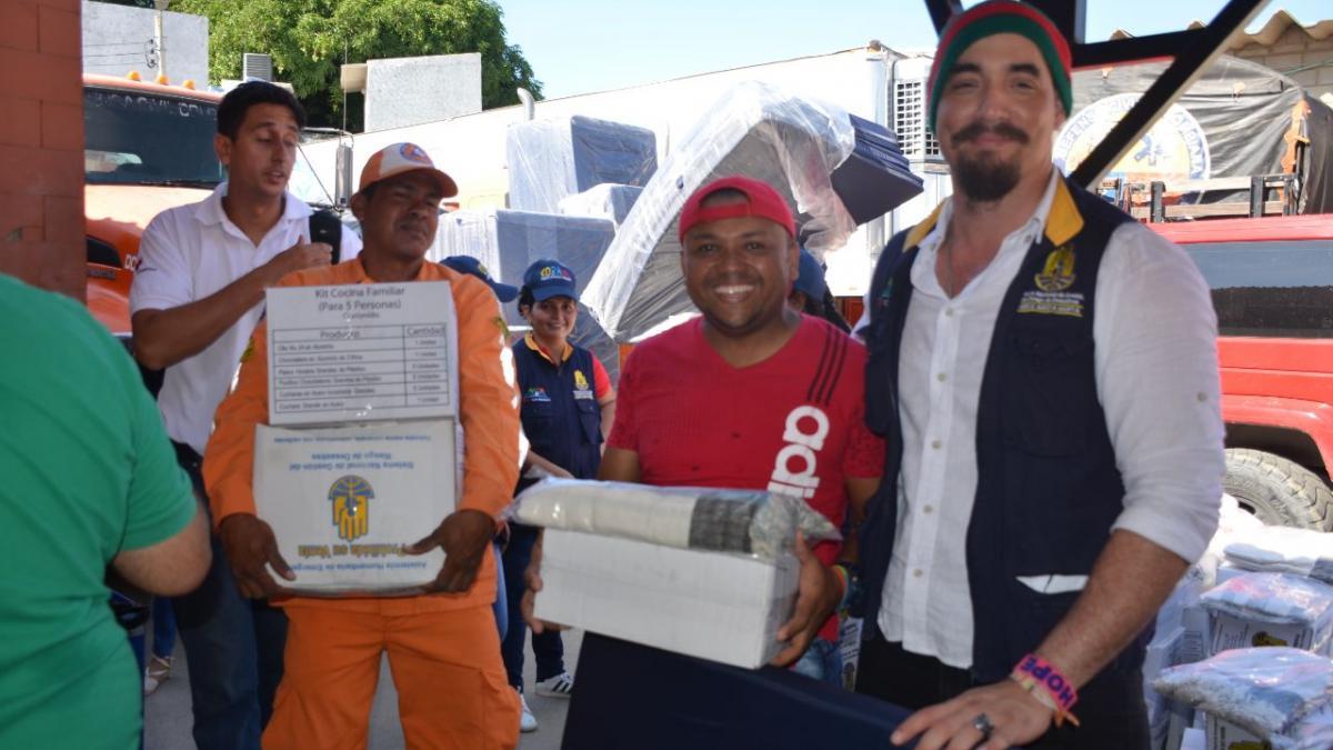 2.642 núcleos familiares de Santa Marta serán beneficiados con entrega de ayudas humanitarias