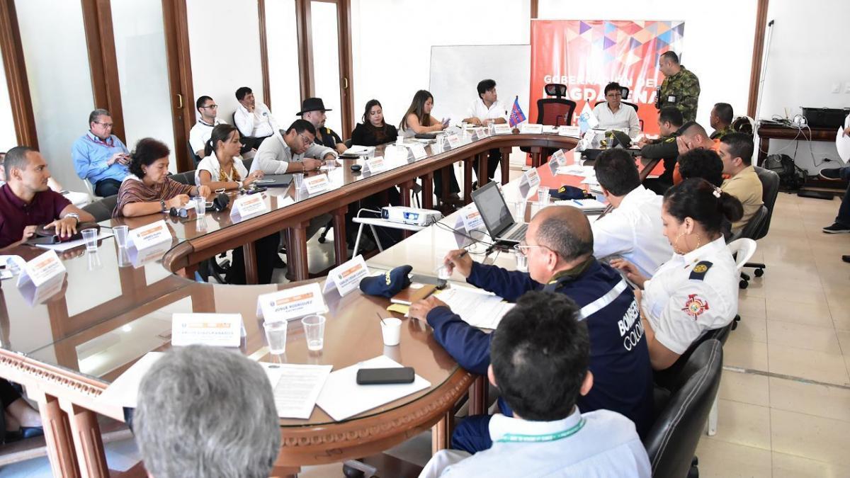 Distrito participó en Consejo Departamental  para la gestión de riesgos durante la temporada seca