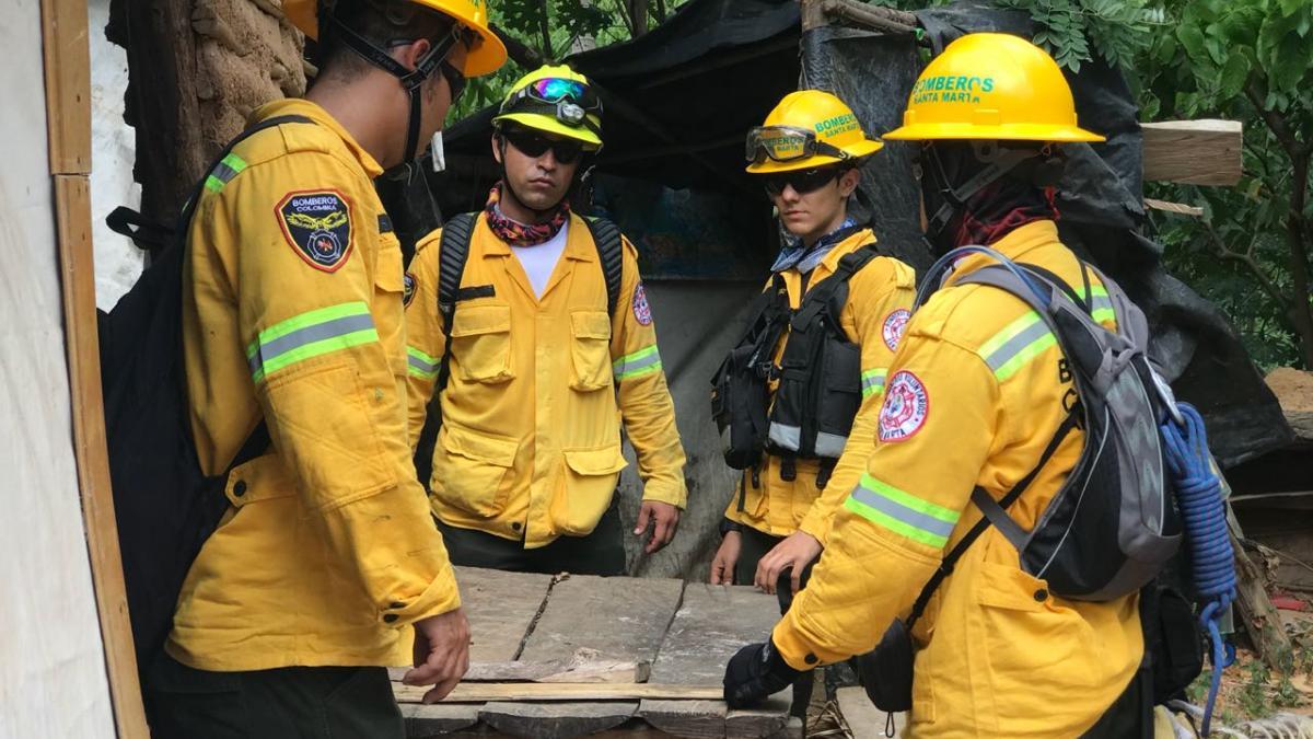 Consejo Distrital de Gestión del Riesgo evaluó emergencia por incendio forestal en la Sierra Nevada de Santa Marta