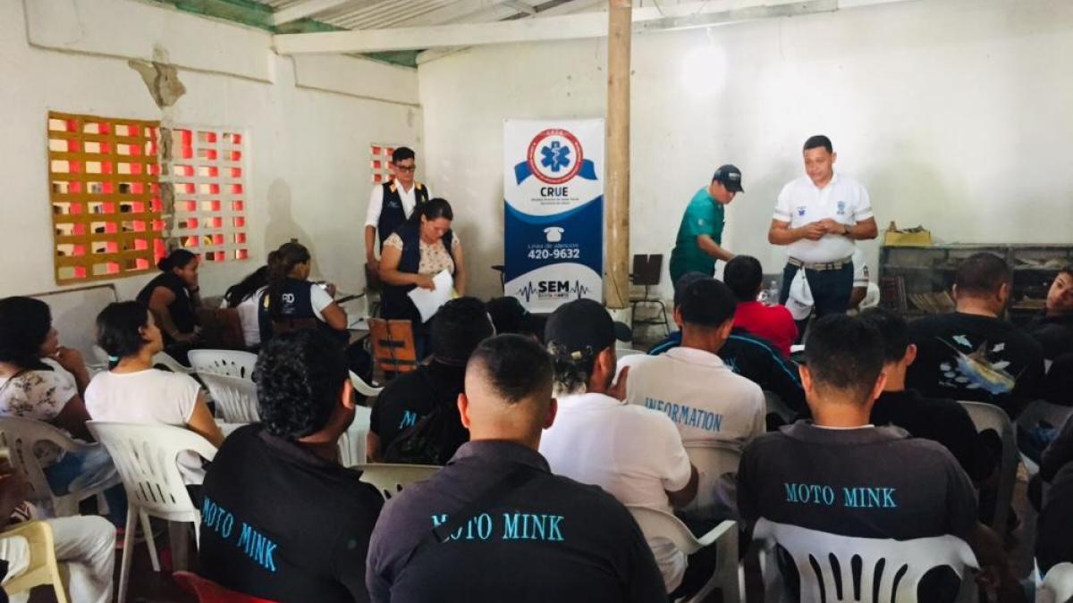 Alcaldía capacitó a miembros del Cobasa de Minca como primeros respondientes en Salud