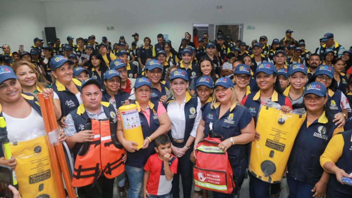 Virna Johnson quiere convertir a los Comité Barriales de atención a emergencias y desastres en referente internacional