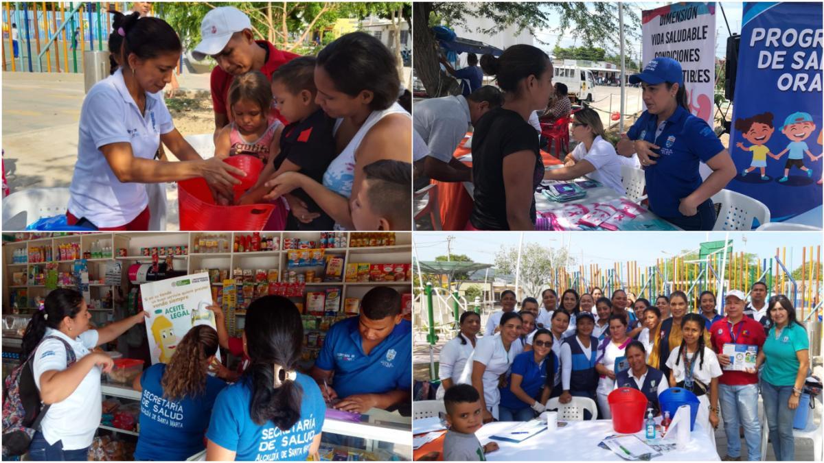Jornada de vacunación se tomó a Olaya Herrera y Pescaíto